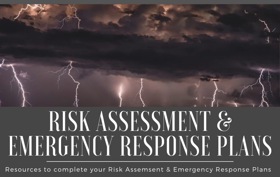 Resources to Complete Your Risk & Resilience Assessment and Emergency Response Plan