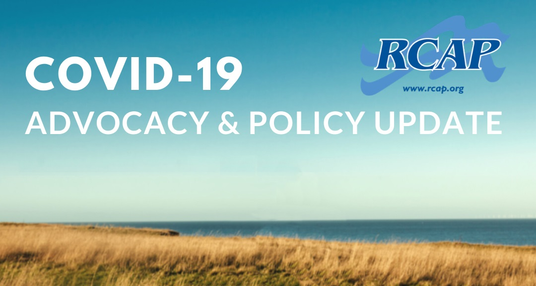 RCAP Advocacy and Policy Update: COVID-19 Response
